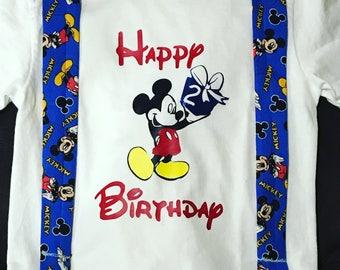 Mickey Birthday Shirt