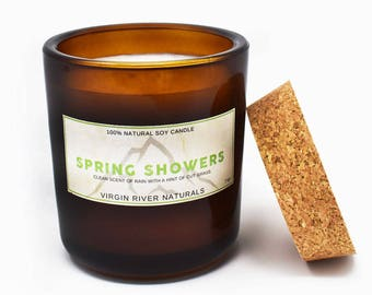 Spring Showers Soy Candle