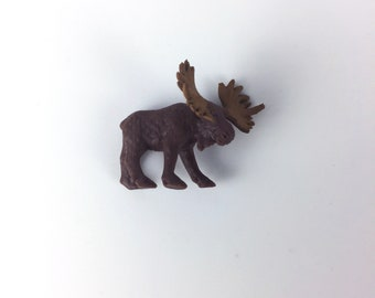 Moose Terrarium Accessory // Figurine // Miniature