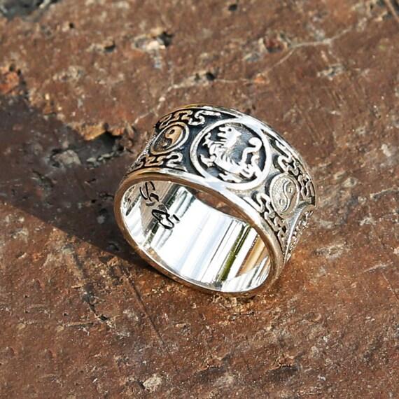 Yin Yang Wedding Ring Jewelry