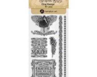 Graphic 45 Midnight Masquerade Stamps 3, SC007722
