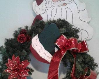 Santa Wreath Hanger