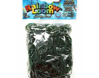 Medieval Jade Rainbow Loom Bands Refill. 600 bands & c-clips. Guaranteed authentic. Latex-free.