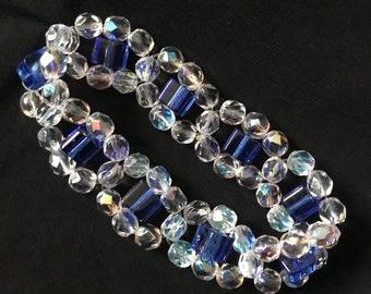 """Brazalete & Earrings """"cubic"""" A44"""