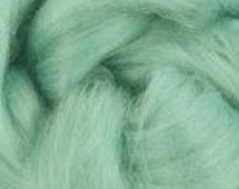 Tussah Silk roving ,color Paradise