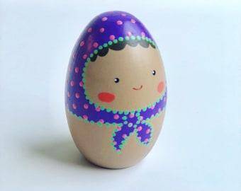 Egg Doll - Purple (Small)