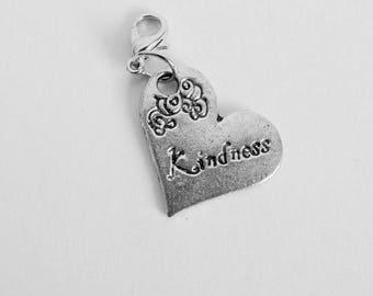 Kindness Heart Charm