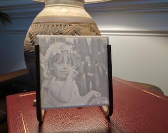 Custom 3D Printed 4x4 Flat Lithophane in a Minimalist Frame