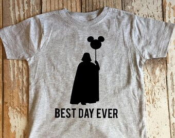 Best Day Ever Shirt, Darth Shirt, Disney, Star Wars Shirt, Kid Shirt