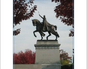 St. Louis Statue, Forest Park, St. Louis MO