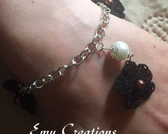 Braccialetto con charms - bracelet with charms