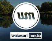 Wakesurf Media Decal - Fr...