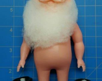 """Plastic Santa Doll 6"""" Mangelsen's 156-97 (23)"""