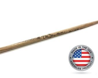 Personalized Drum Sticks,Laser Engraved Drumsticks,Custom Drumsticks,Unique Drumsticks