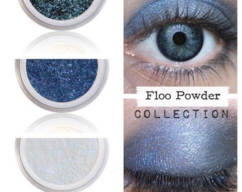 Harry Potter, Wizardry Witchcraft, FLOO POWDER, Eyeshadow Kit, Natural Beauty, Loose Pigments, Vegan Makeup Kit, Cruelty Free Make Up