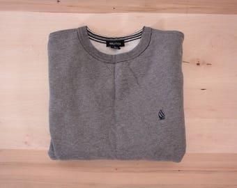 Vintage Nautica medium gray sweatshirt