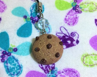 Chocolate Chip Cookie Sculpey Charm