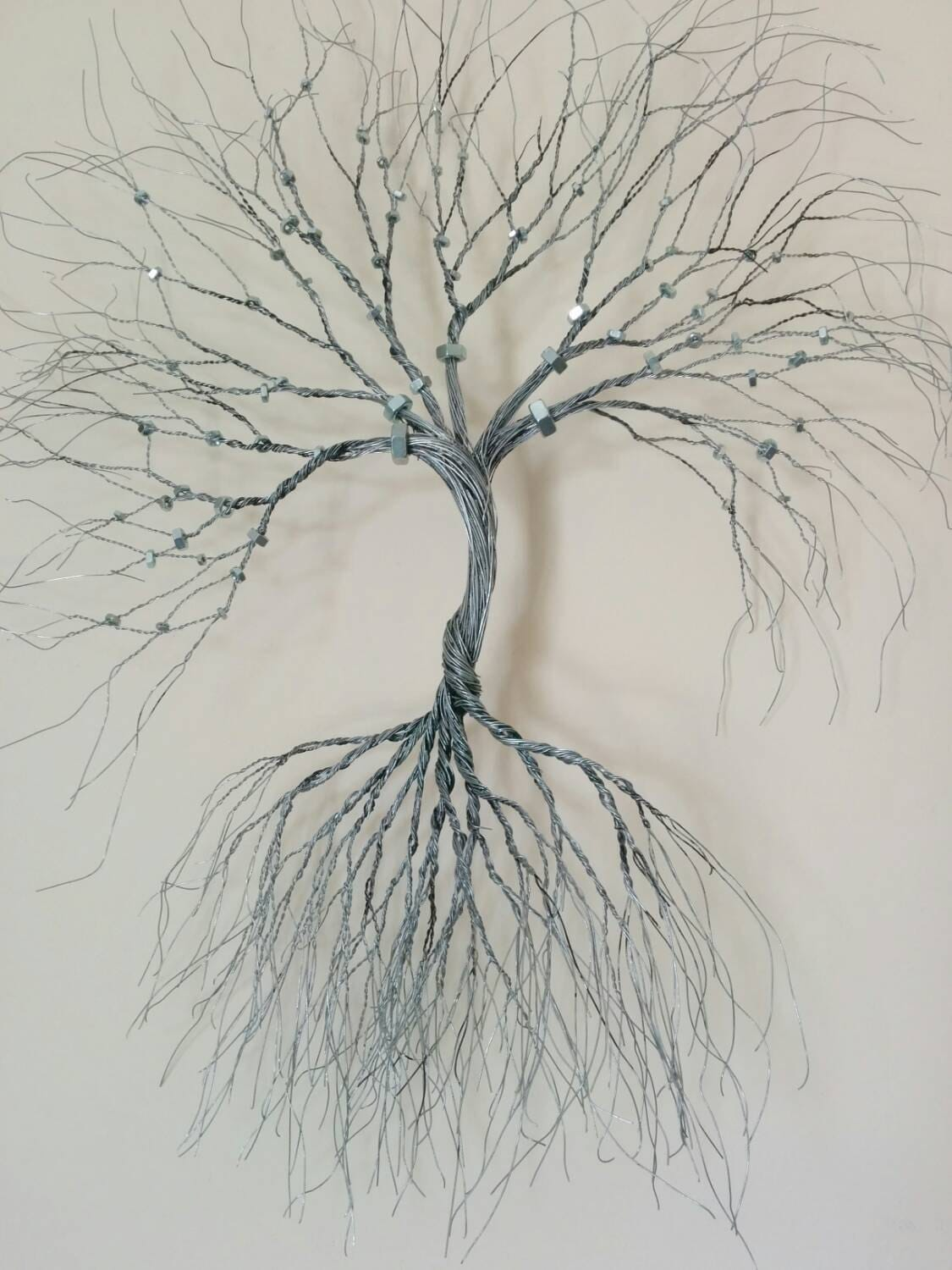Wire Wall Art Home Decor Cool Silver Wire Wall Art Tree Of Lifewall Decorationdecorative Decorating Inspiration