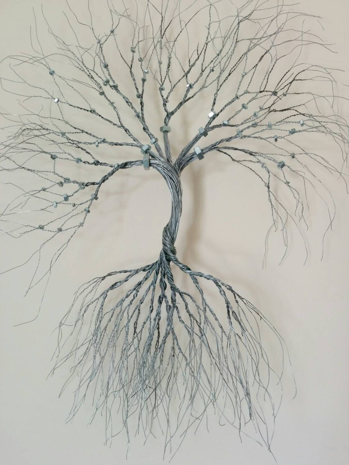 Wire Wall Decor Silver Wire Wall Art Tree Of Lifewall Decorationdecorative