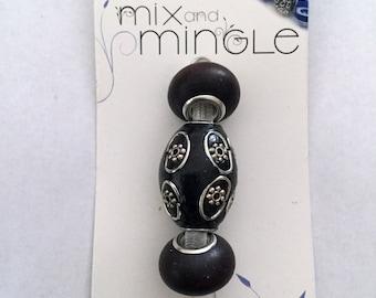 Mix and Mingle Dark Brown Wood Beads