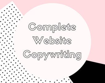 Website Copy - Copywriting - Content Creation - Writing - Web Writing - Websites - Copy