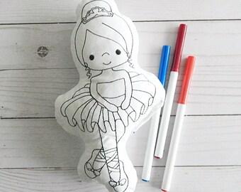 Ballerina toy - Ballerina doll - Ballerina Party - Ballerina toy for girls - gift for dancers - Ballerina - dance recital gift for girls