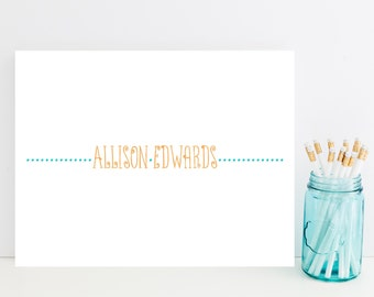 Whimsical Customized Stationery - Fun, Funky Personalized Stationary