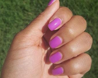 Purple Nail Polish- Purple Passion