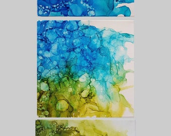 Serenity | Original Alcohol Ink Art