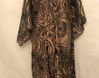 Vintage embroidered indian dress m/l