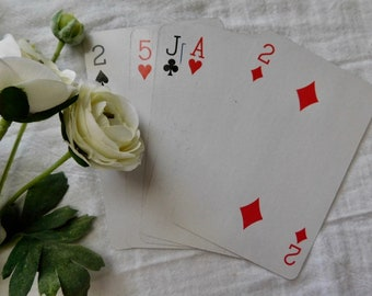 Extra Large Playing Cards - Set Of 5