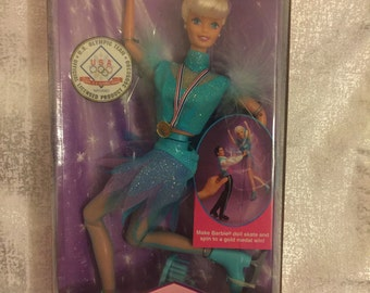 USA Olympic Skater Barbie by Mattel