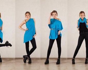 Convertible scarf - Organic - fair trade - colour choice - request size