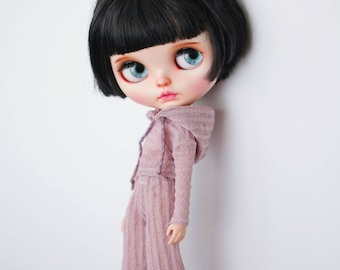 3 pieces hoodie set for Blythe doll