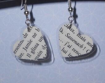 Outlander Jamie & Sassenach earrings