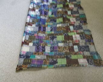 Quilt top ready for finishing