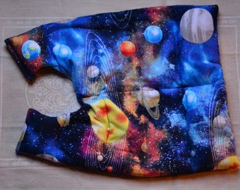 Microwaveable Heating Pad (Solar System)- Back