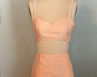 Sierra, Flirty Crop and Skirt Set