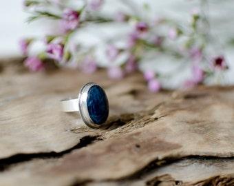 Sterling silver ring  Bohemian Ring   Statement Ring  Gemstone Ring  Trendy Rings   Jasper Stone  Wanderlust Rings   Mothers Day Gift