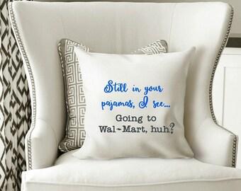 Funny Sarcastic Humorous Machine Embroidery Design Wal-Mart Original Digital File Instant Download 5x7 Hoop Pillow Wall Art