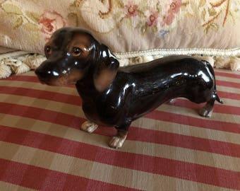 Dog Lover Dachshund Lefton Male Dog Figurine