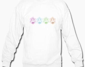 Rainbow Graphic College Sweatshirt (Schools P-W)