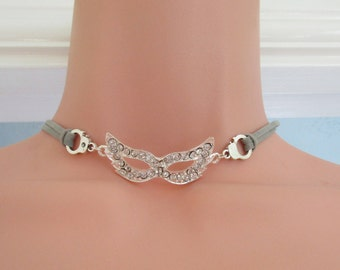 Fifty Shades of Grey themed Choker Necklace