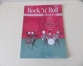 Rock n Rock Favorites, Big Note Songbook. 1950's Rock and Roll Songs.