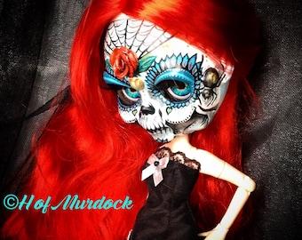 Calaveras Blythe Art Doll (ADOPTED)