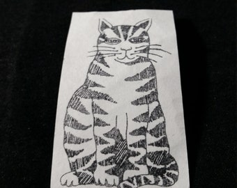 Cat Used Rubber stamp View all Photos