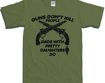 Funny Father's Day Gift T-shirt T Shirt Tshirt - Dads Daughter Cool Clever Humorous Gift for Him Mens Womens XS S M L XL 2XL 3XL 4XL fa-0239