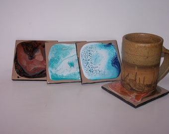 EARTH ELEMENTS  COASTERS