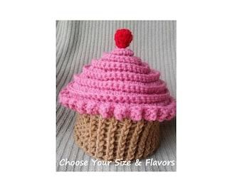 Cupcake Beanie, Cupcake Baby Hat
