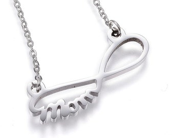 """Infinity """"Mom"""" Necklace"""